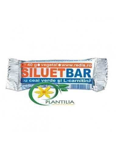 Siluet bar 40g Redis, Baton Siluet bar 40g RedisSiluet Bar este un baton cu o valoare energetica redusa, dar cu un continut mare