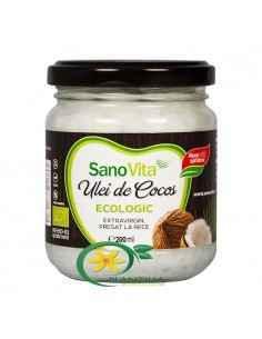 Ulei de Cocos Ecologic 500 ml SanoVita