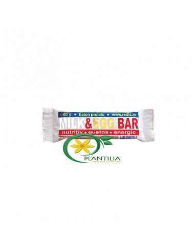 Baton Milk Egg Redis, Baton proteic Milk & Egg Bar Milk & Egg Bar este un baton proteic bogat in proteine provenind din
