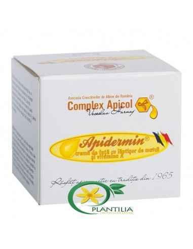 Apidermin 30ml Complex Apicol, Crema de Fata cu Vit A 30ml Apidermin Ingrijirea tenului sanatos este desvarsita de un tratament