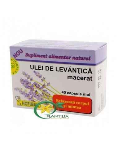 Ulei de Levantica 40cps Hofigal, Ulei de Levantica 40cps Hofigal Induce o stare de echilibru emotional si de liniste interioara