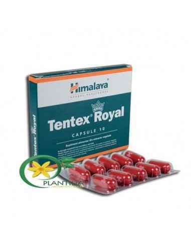 Tentex Royal 10 cps Himalaya Tentex Royal capsule este un supliment alimentar din pulberi si extracte vegetale.Plantele din comp