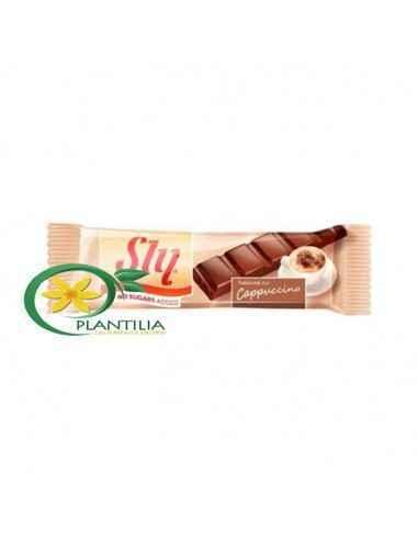 Ciocolata fara Zahar Capucino 25g Sly Tabletele Sly conțin îndulcitor hipocaloric, permis în alimentația diabeticilor, având un