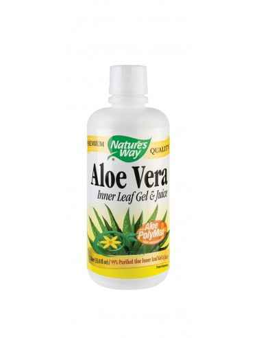 Aloe Vera 1000ml Secom, Aloe Vera Gel & Juice with Aloe PolyMax+™ Planta medicinala cu peste 200 de componente naturale bioa