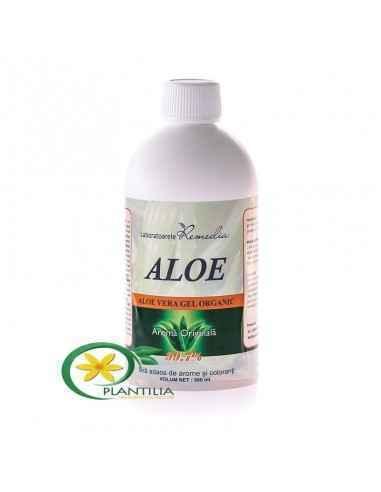 Aloe Vera Gel Organic 1000ml Remedia, Aloe Vera Gel Organic Substantele continute in gelul de Aloe Vera (aminoacizi, polizaharid
