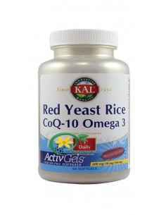 Red Yeast Rice CoQ-10 Omega-3 60 capsule moi Secom