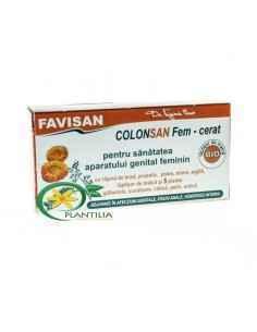 Colonsan Fem cerat Supozitoare 5plante Favisan