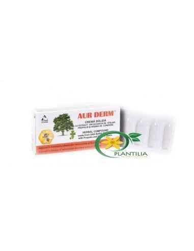 Supozitoare Aur Derm cu Stejar 6buc Laur Med Produsul Aur Derm scoarta de stejar are proprietati antiseptice, antiinflamatoare,