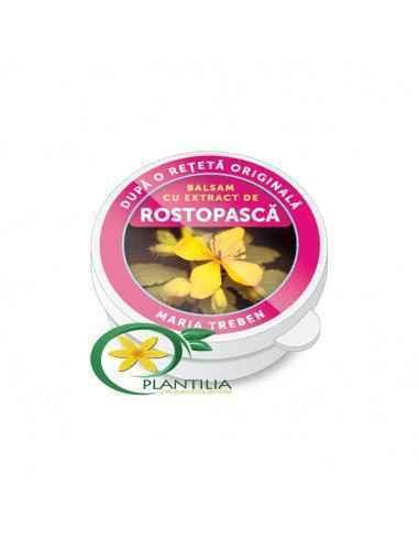 Balsam cu Extract de Rostopasca 30ml Maria Treben Quantum Este un extract uleios din pulbere de rostopască (Chelidonium majus),
