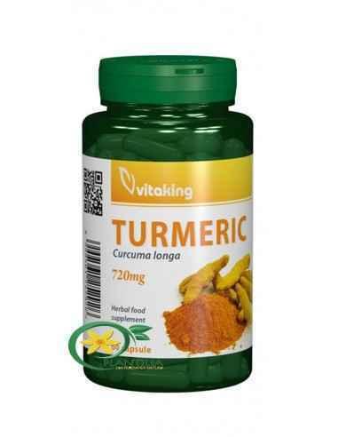 Curcuma 60 cps Vitaking, Turmeric (Curcuma) 720 mg 60 capsule Vitaking Curcuma poate fi folosita în tratarea diverselor probleme