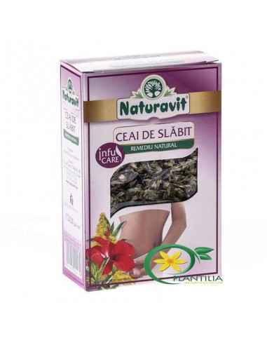 Ceai de Slabit 50g Naturavit,  Ceai de Slabit 50g Naturavit Ceaiul de slabit reprezinta un element eficient in procesul de slabi