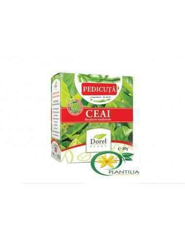 Ceai Pedicuta 50g Dorel Plant Are actiune diuretica, antilitiazica, antialcoolica, antitabagica, antireumatica.