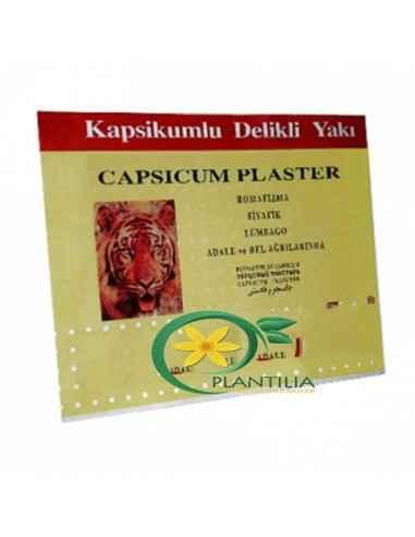 Plasturi antireumatici Sanitabant Plasturele antireumatic are în compozitie un hidrogel cu capsaicina (substanta activa din arde
