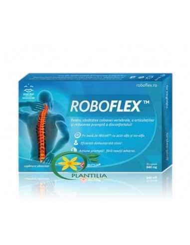 Roboflex Good Days Therapy 30 capsule Roboflex - este un antiinflamator natural, cu acțiune rapidă, începând cu 30 de minute de