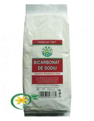 Bicarbonat de Sodiu 1000g Herbavit Bicarbonat de Sodiu - de uz alimentar.