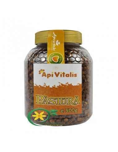Pastura 500 gr Api VitalisPastura este un aliment complet recomandat pentru afectiunile tubului digestiv, prostata, stres, depre