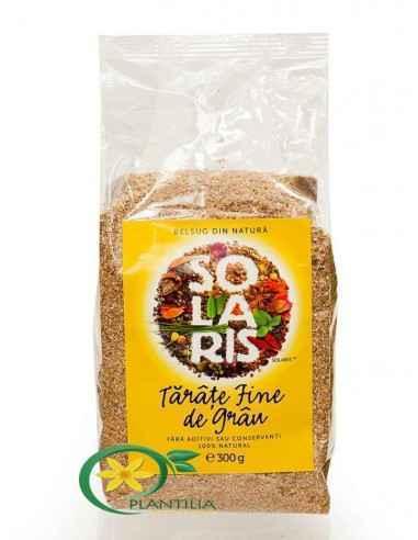Tarate Fine de Grau 300g Solaris Taratele de grau sunt indicate in diete pentru ca scad pofta de mancare si ofera o senzati