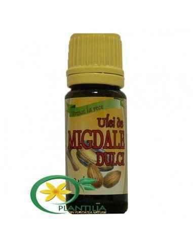 Ulei de migdale dulci - presat la rece Ulei cu eficientă nutritivă superioară, fiind bogat în vitamine (A, B si E), minerale şi