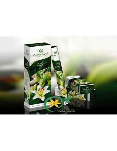 Betisoare parfumate Lily Aroma Land Bețișoarele parfumate Lily aduc în orice spațiu aroma plină de vigoare a florilor de