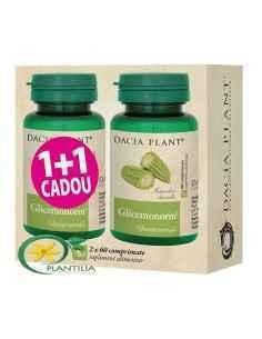 Glicemonorm 1+1 Cadou Dacia Plant