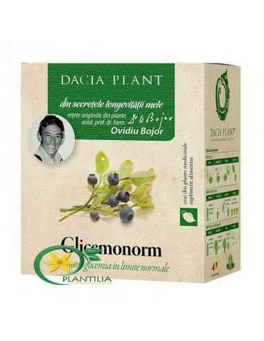 Ceai Glicemonorm 50g Dacia Plant, Glicemonorm ceai compus 50g Dacia Plant Glicemonorm ceai este o combinație unică de plante, re