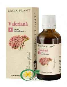 Tinctura Valeriana 50 ml Dacia Plant