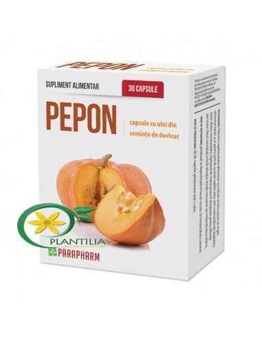 Pepon ulei de dovleac 30 capsule Parapharm Uleiul de Dovleac presat la rece este un produs, care conservă in totalitate principi
