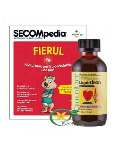 Liquid Iron 10mg(Fier sirop) 118.5 ml Childlife Essentials