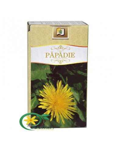 Ceai Papadie 20 plicuri StefMar Ceaiul de papadie contribuie la producerea si eliminarea bilei si normalizarea secretiilor diges