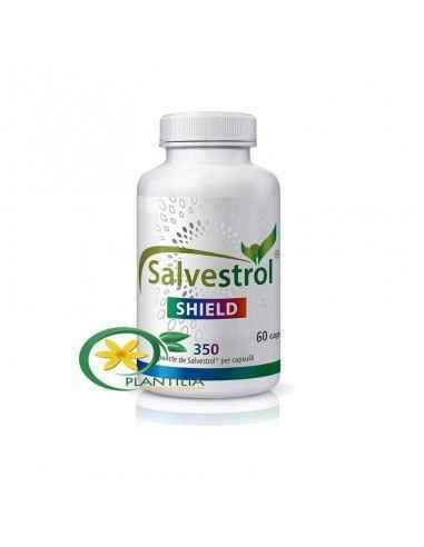 Salvestrol Shield, Salvestrol SHIELD 350p citostatic naturist 60 cps Supliment alimentar 350 puncte de Salvestrol per capsula pe