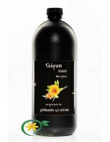 Sapun lichid cu Extracte de Galbenele si Catina  1000ml Nera Plant, Sapun lichid cu Extracte de Galbenele si Catina Produs fabri