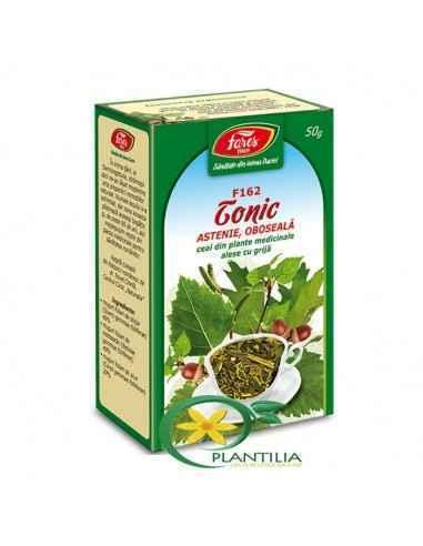 Ceai Tonic 50g Fares Recomandat in oboseala, astenie, convalescenta.