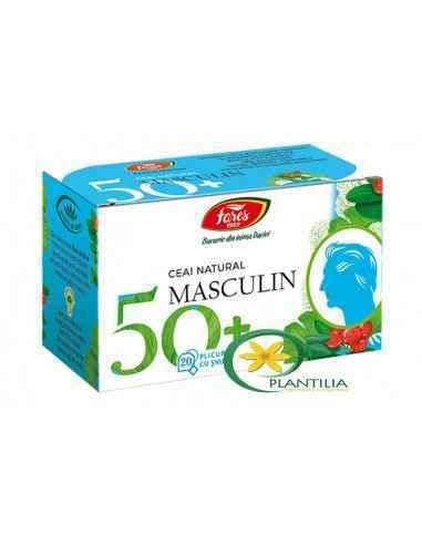 Ceai Masculin 50+ 20 plicuri Fares, Ceai Masculin 50+ 20 plicuri Fares Ceai natural din plante medicinale pentru menținerea sana