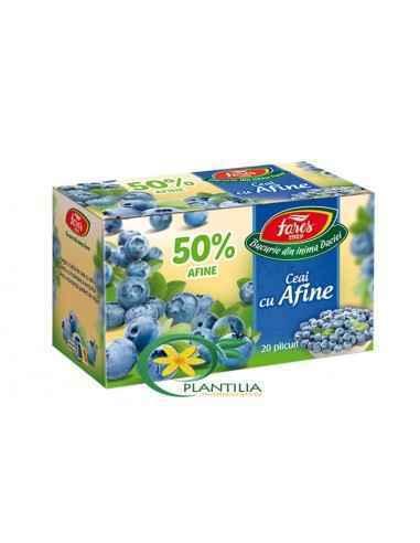 Ceai cu Afine 50% 20 plicuri Fares, Ceai cu Afine 50% 20 plicuri Fares Alege o cană de ceai cu afine pentru o încântare a simțur