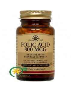 Acid Folic 800mcg 100 tablete Solgar
