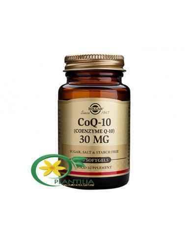 Coenzima Q10 30mg 30cps Solgar, Coenzima Q10 30mg 30cps Solgar COENZIMA Q-10 (CoQ-10) se regaseste in fiecare celula din plante
