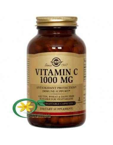 Vitamina C 1000 mg 100 cps Solgar, Vitamina C 1000 mg 100 cps Solgar  Vitamina C este o vitamină antioxidantă esențială sănătăți