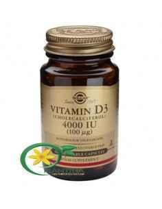 Vitamina D3 4000ui 60 cps Solgar