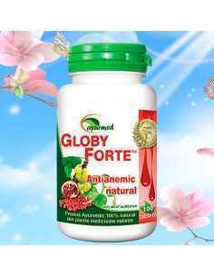 Globy Forte 100 tablete Ayurmed