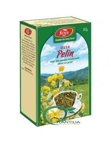 """Ceai Pelin 50 g Fares,  Ceai Pelin 50 g Fares Pelinul """"a fost folosit cu succes pentru expulzarea paraziţilor intestinali […] es"""