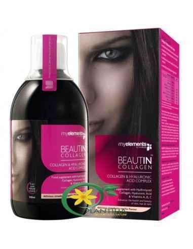 Beautin Colagen Lichid 500 ml MyElements,  Beautin Colagen LichidStr/Van 500 ml MyElements  Beautin Colagen este formula inovat
