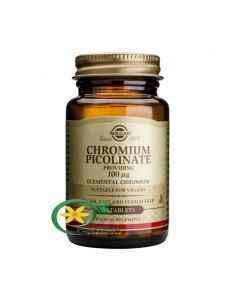 Picolinat de Crom 100 mg 90 tablete Solgar