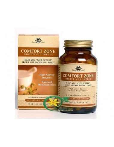 Comfort Zone Digestive Complex 90cps Solgar Comfort Zone este un complex digestiv avansat, care va ajuta pentru o digestia mai