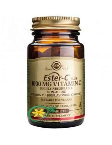 Ester-C Plus 1000mg 30 tb Solgar,  Ester-C Plus (Ascorbat de calciu) 1000 mg 30 tb Solgar  Ester-C reprezintă o formă inovativă