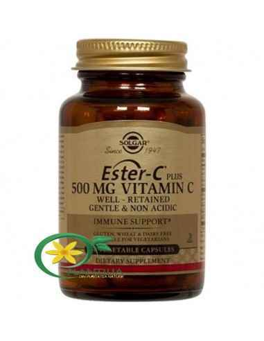Ester-C Plus 500mg 50 tb Solgar,  Ester-C Plus (Ascorbat de calciu) 500 mg 30 tb Solgar  Ester-C reprezintă o formă inovativă de