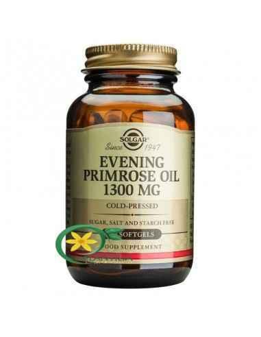 Evening Primrose Oil (Ulei de Luminița Nopții) 1300 mg 30 capsule Solgar Uleiul de Evening Primrose este o importanta sursa de a
