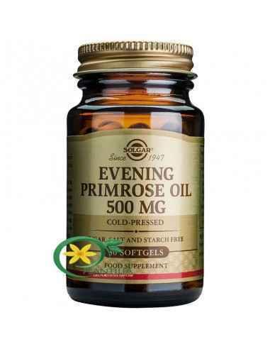 Evening Primrose Oil (Ulei de Luminița Nopții) 500 mg 30 capsule Solgar Uleiul de Evening Primrose este o importanta sursa de ac