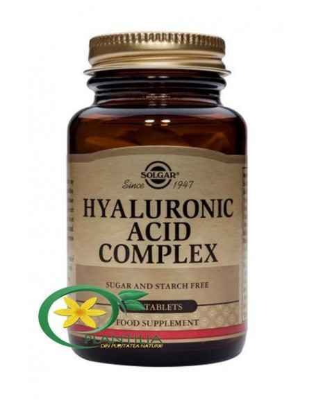 Hyaluronic Acid Complex 120 mg 30 cps Solgar