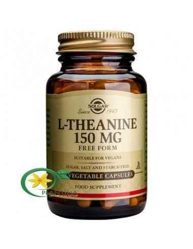 L-Theanine 30 cps Solgar,  L-Theanine 150mg 30 cps Solgar  L-Theanine este o componentă a ceaiului verde.