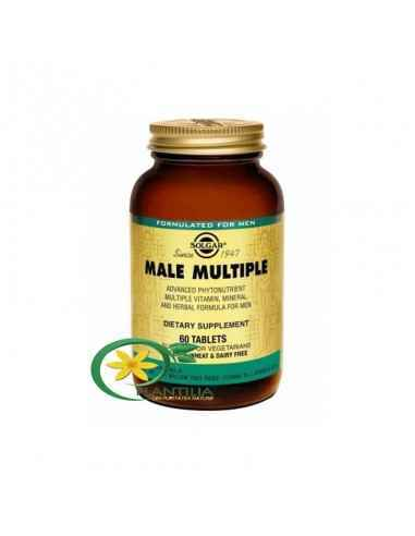 Male Multiple 60 tb Solgar,  Male Multiple 60 tb Solgar Formulă avansată ce vizează optimizarea sănătății bărbaților. În mod spe